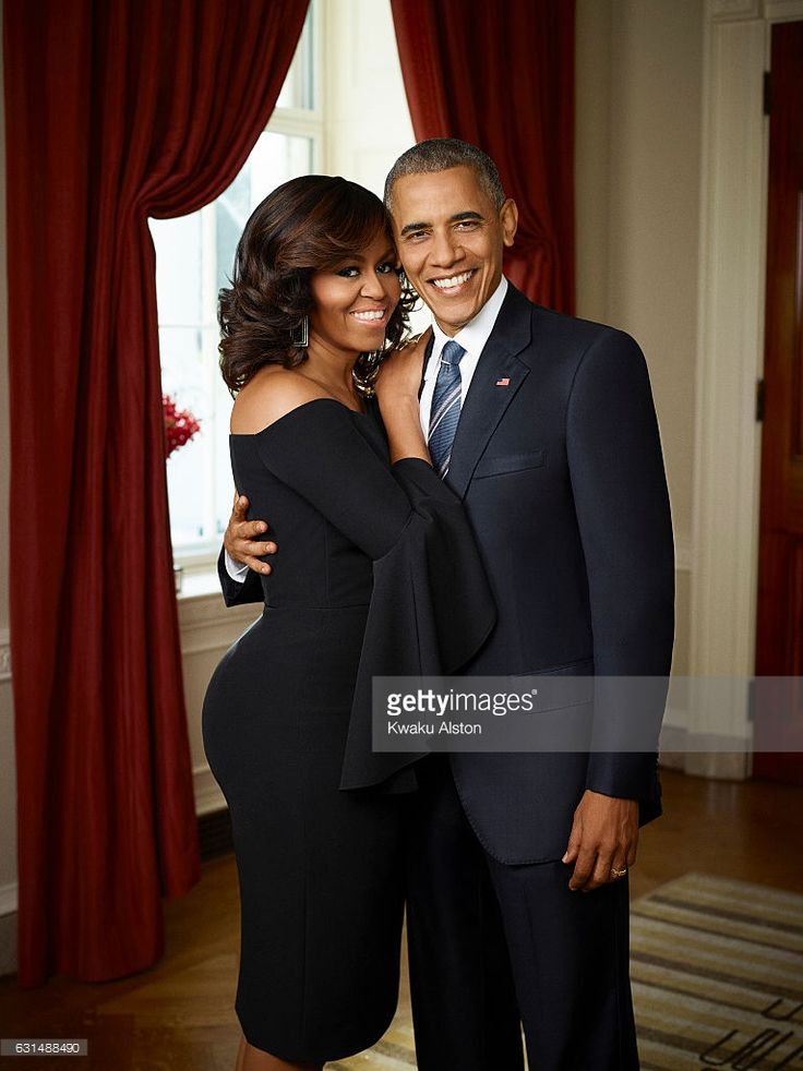 The President and First Lady of the United States of America Barack Obama, Michelle Obama are photographed for Essence Magazine on July 20, 2016 in Washington, DC.
