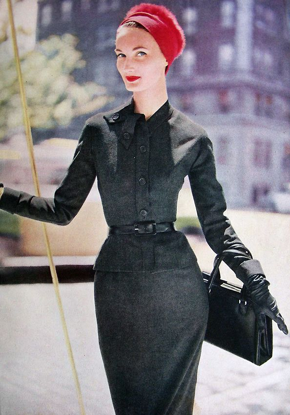 Evelyn Tripp Vogue Pattern Book Oct/Nov 1954