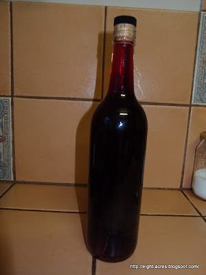 Eight Acres: Making red wine vinegar
