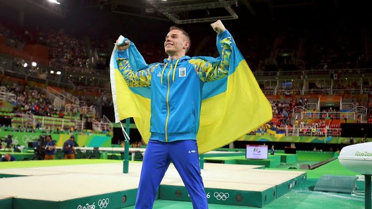 The first gold of Ukraine at the Olympic Games in Rio  The world champion, four-time European champion, two-time champion of the European Games, silver medalist of the 2016 Olympics Oleg Verniaiev won the first gold medal in Rio for Ukraine in the competition on the parallel bars. On second place is American Daniel Leyva and the bronze went to Russian David Belyavsky.