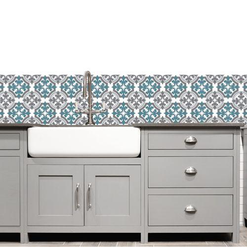 17 meilleures id es propos de cr dence adh sive cuisine. Black Bedroom Furniture Sets. Home Design Ideas
