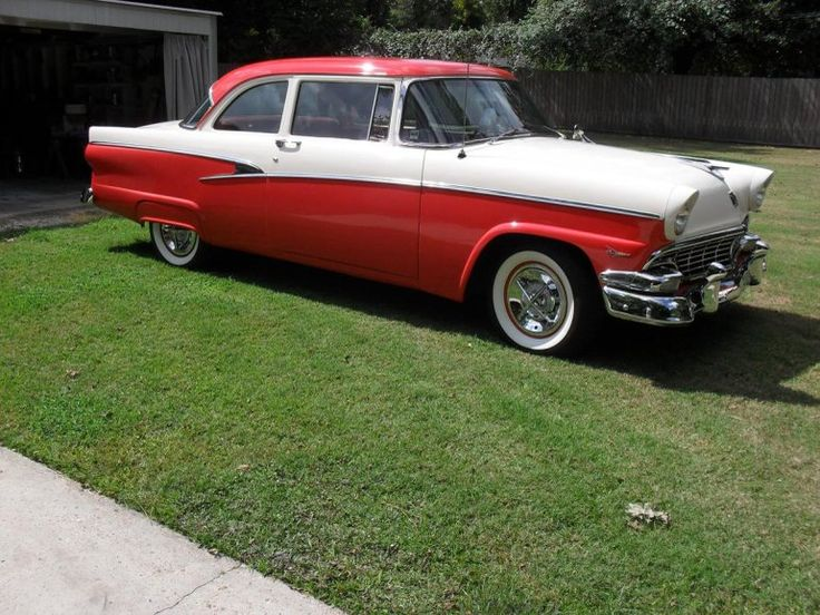 17 best images about ford motor company on pinterest for 1956 ford customline 2 door hardtop