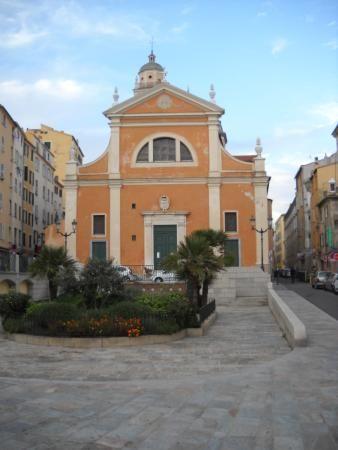 Cathédrale Notre-Dame-de-l'Assomption d'Ajaccio. Corse