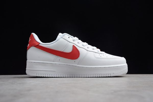 Nike Air Force Af1 Low White Red Aq3774 991 1 Nike Air Nike Air