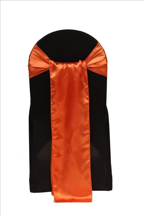 Satin Sash Orange. Satin 8 x 108 Sash