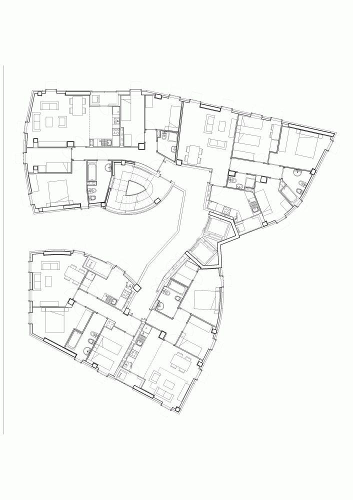Vivienda Colectiva en Torre Baró / MiAS Architectes