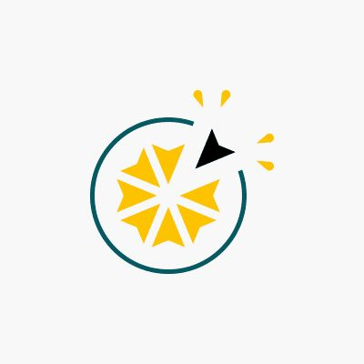 Logo citron - Création - Owena Cabannes // Graphiste
