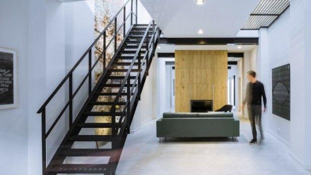 Deze loft in Den Bosch is geïnspireerd op de New Yorkse bouwstijl