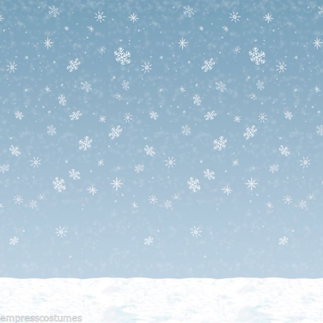 frozen christmas winter sky theme 9m background scene