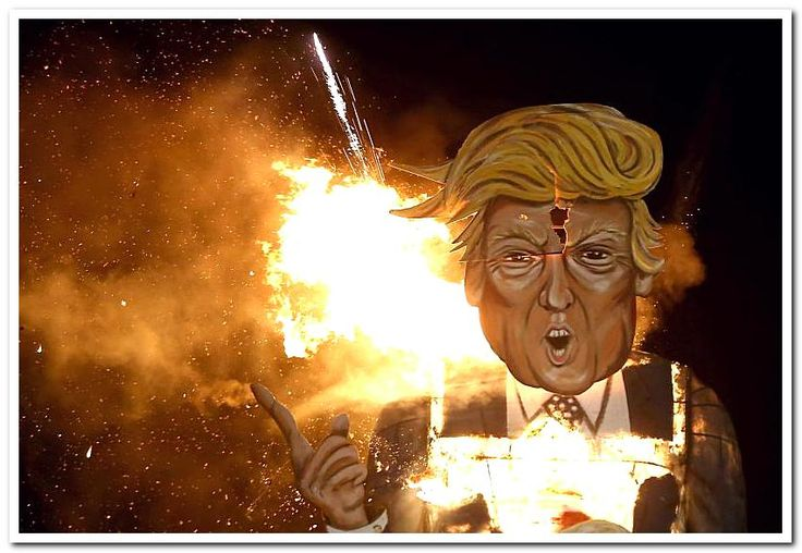 Donald Trump effigies burned across England for Bonfire Night............................................................................................................................................................................................................... http://www.cnn.com/videos/world/2016/11/06/donald-trump-effigies-burned-across-england-for-bonfire-night-orig-mobile-tc.cnn