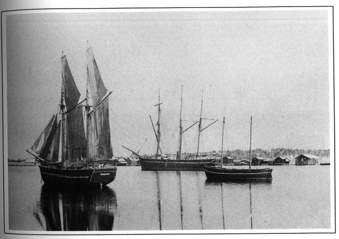Stadsfjärden i Kristinestad 1895