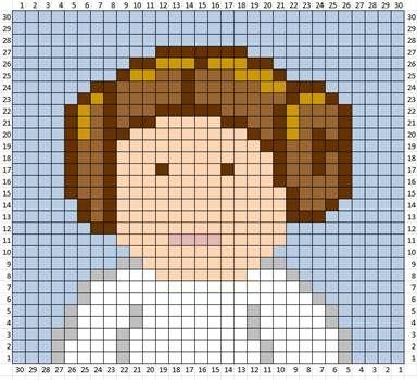 Star Wars crochet blanket : TONS of free charts and explanations ! | Ahookamigurumi