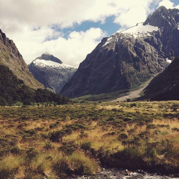 South Island, New Zealand Fjordland National Park
