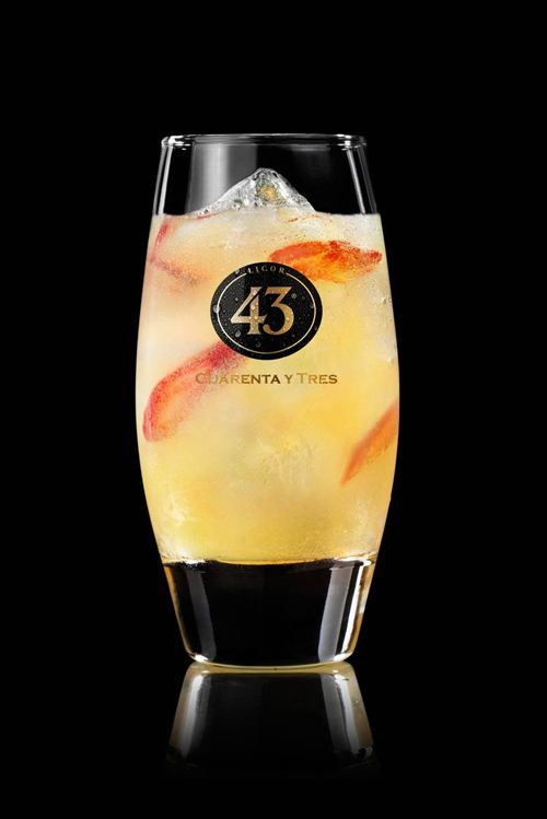 Picante 43 - Licor 43 Gingerale / rode peper / sinaasappel