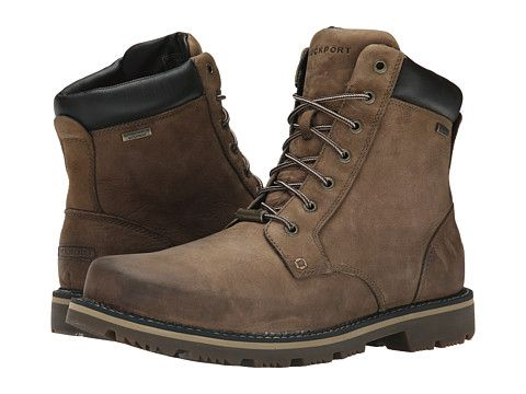 Rockport Gentry Waterproof Plaintoe Boot New Tan Rockport, Shoes, Tan