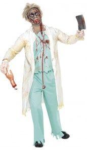 Déguisement De Docteur Zombie - Homme