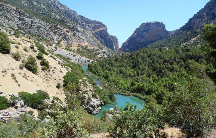 Caminito Del Rey. Malaga's Mountains.  Montañas.