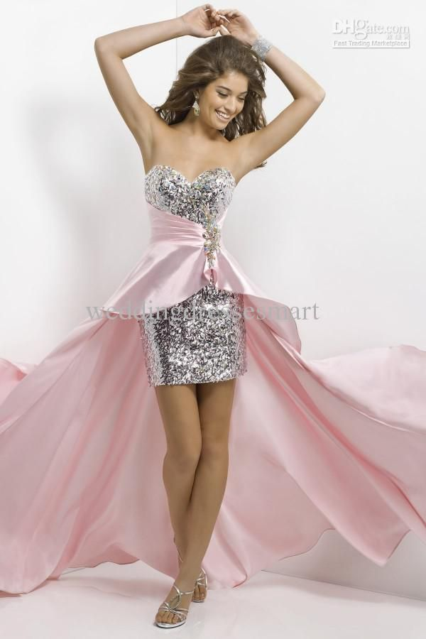 19 best Fun Fashion images on Pinterest | High low prom dresses ...