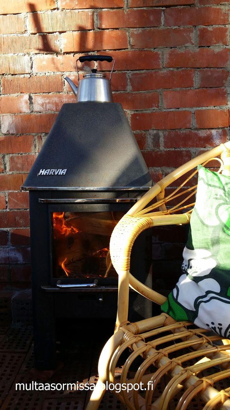 MULTAA SORMISSA: Kamiinan lämmössä kasvihuoneessa