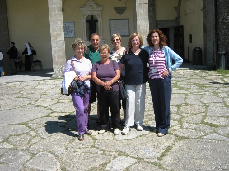 Guided walking tour of La Verna in the Casentino forest