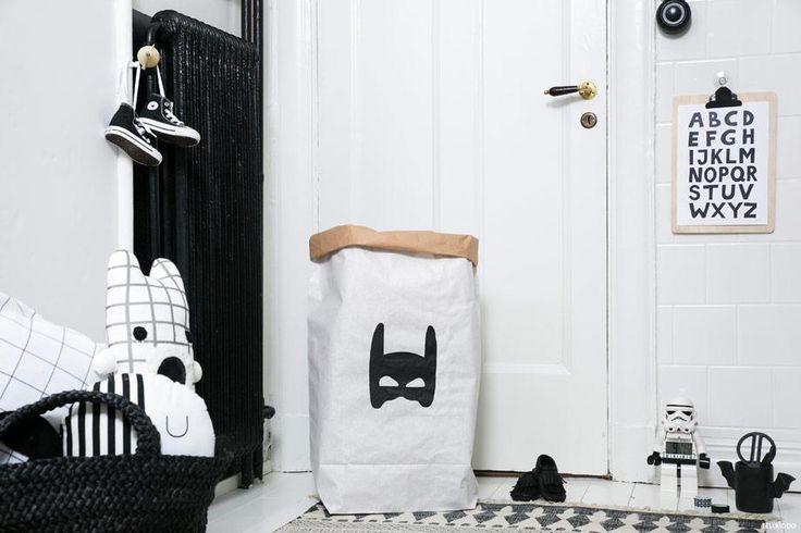 Tellkiddo - Superhero Paper Bag