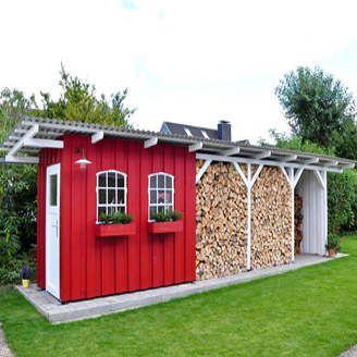 Anleitung und Tipps: Unterstand selber bauen aus Holz. Der folgende Bauplan zeigt den Bau einer es einfachen Holzunterstandes.