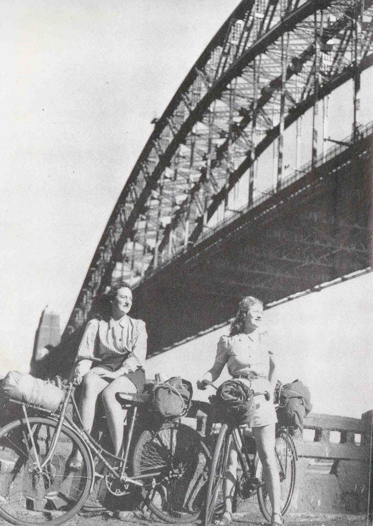 This is the tale of 2 amazing girls who in 1946 set-off for a journey of a lifetime on their travels around Australia by bike.