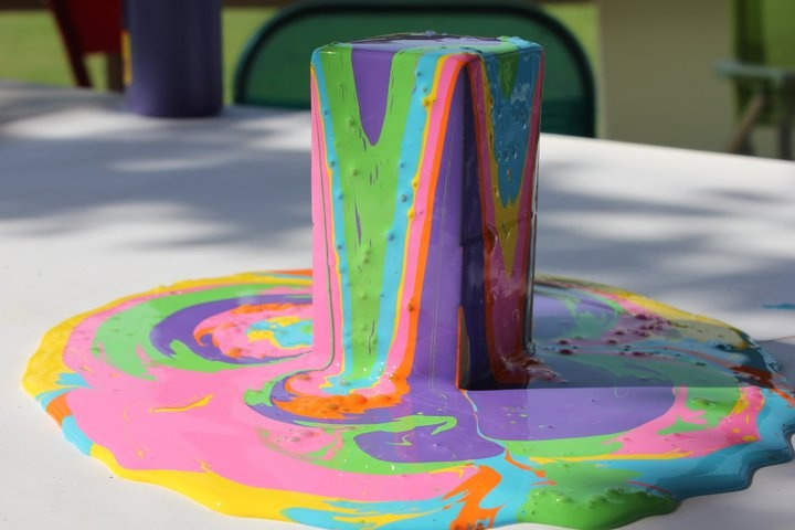 Awesome activities for toddlers!: Cool Paintings, Daycare Kidcraft, Drippi Paintings, Activities For Kids, Wood, Kids Babies Homeschool, Kids Crafts Acting, Paintings Fountain, Tall Paintings