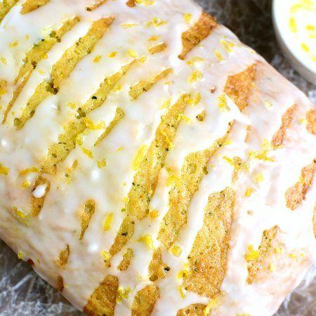 Lemon Zucchini Bread 4c