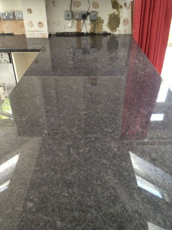 Steel Grey granite - unique...and beautiful! By GKSW