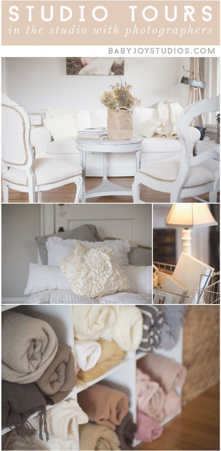 Photography Studio Tour | Jenny Cruger Photography | Interviewed by Baby Joy Studios