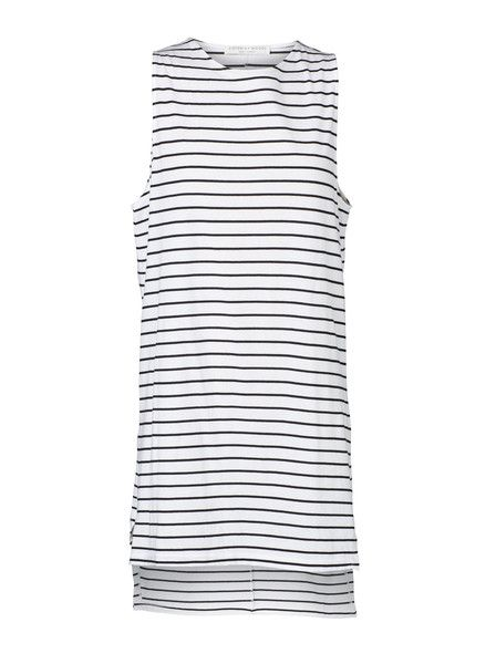 VIKTORIA & WOODS - Berlin Tank Dress - Black - White - Stripe  $129.90