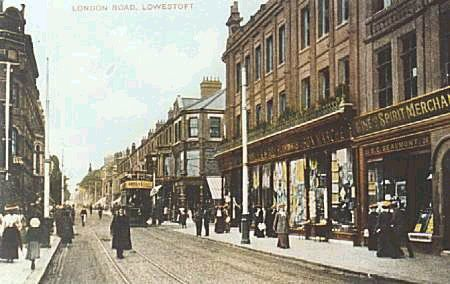 Lowestoft town centre