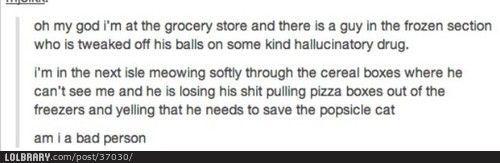 Definitely a good person.