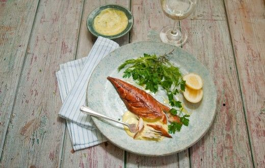 Now it seems summer has finally arrived up and down the country, why not mix up some yummy homemade herb mayonnaise and serve with a grilled mackerel fillet? The perfect summer evening meal  Recipe here: http://thehappyegg.co.uk/smoked-mackerel-with-a-herb-mayonnaise/
