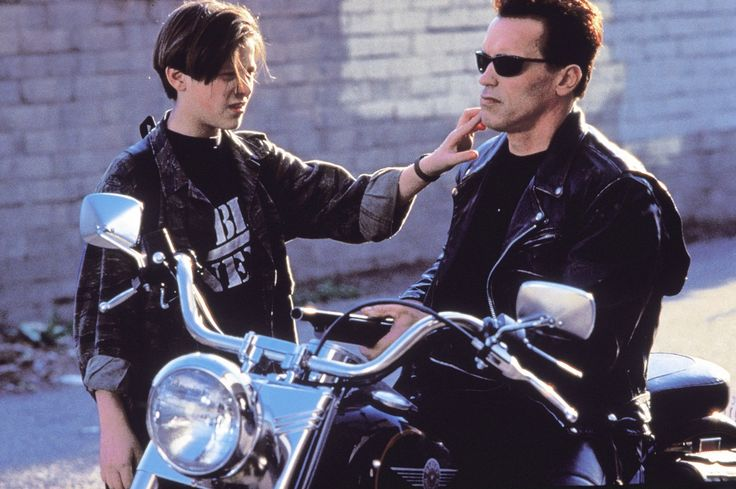 """Terminator 2 - """"Judgment Day"""".  Best of the series....""""a film that perfectly exemplifies the theme of what it means to be human, and acts as a turning point for the genre by melding the old threats of the nuclear era with the more current fears brought on by the information age...."""""""