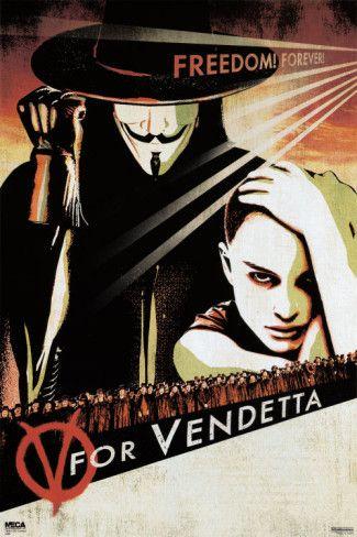 V for Vendetta...remember remember, the 5th of November...the gun powder, treason and plot...I know of no reason the gun powder treason should ever be forgot...