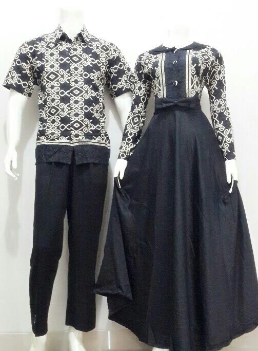 Sarimbit Gamis Amira Bahan Katun Primis Bawahan Velvet Size Pria M L XL Wanita allsize LD 100cm Harga 225rb #gamismurah #muslimbatik #busanamuslim #batikbagoessolo #fashion #batikindonesia #couplefashion
