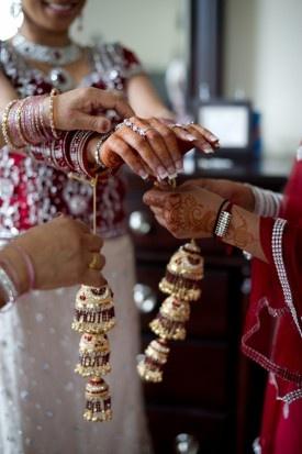 Sikh Bridal Party 275x413 DC Wedding Ceremony: Veetu + Kreshan