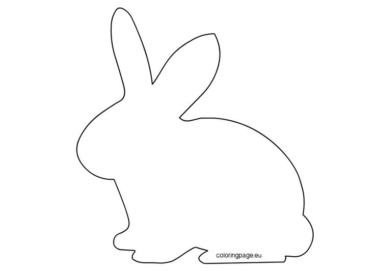 17 best rabbits images on Pinterest Rabbits, School and Bunnies - best of bunny rabbit coloring pages print