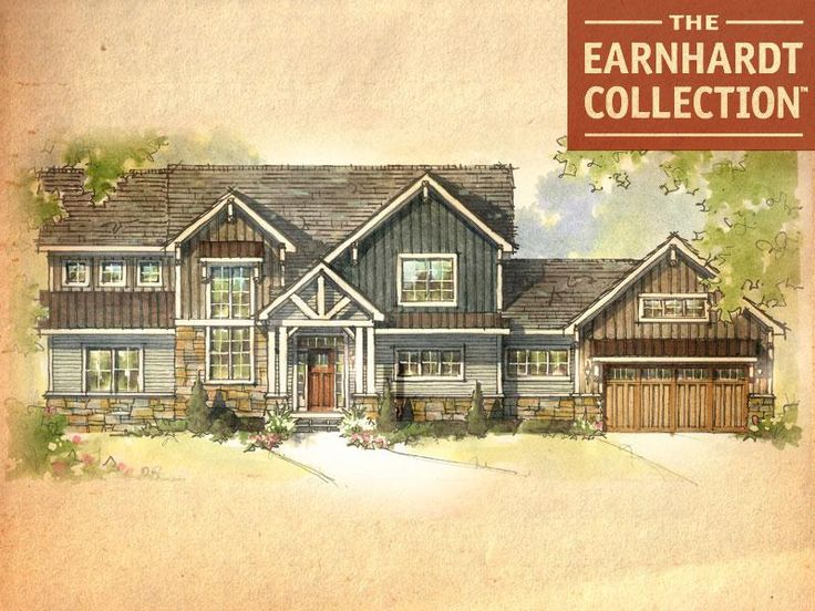 Hickory Home Plan - Earnhardt Collection™ Schumacher Homes