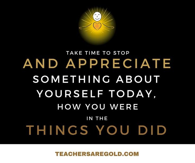 #TeacherAppreciation is key to #Wellbeing. This is something we can do for ourselves. How often do you acknowledge the amazing things you bring to the classroom?