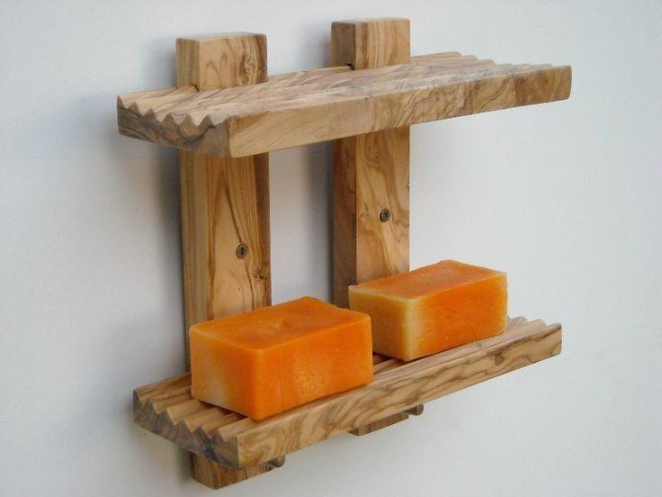 étagère de bain bois d'olivier pour le savon de Alentejoazul sur DaWanda.com
