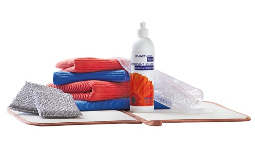 Norwex offers a variety of green tools for cleaning your kitchen, complete with Antibac Microfiber, Enzyme Products, pot scrubbers, dish washing liquid, Fruit and Veggie wash, and more... www.suzannegray.norwex.biz