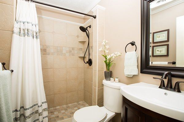17 best images about master bath on pinterest blue tiles design and tile for Custom showers for small bathrooms