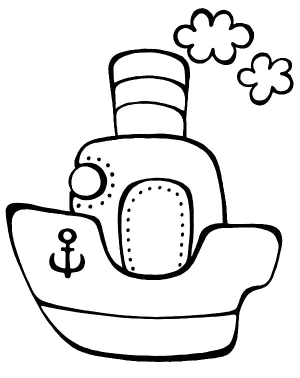 Vehicle coloring pages for babies 9