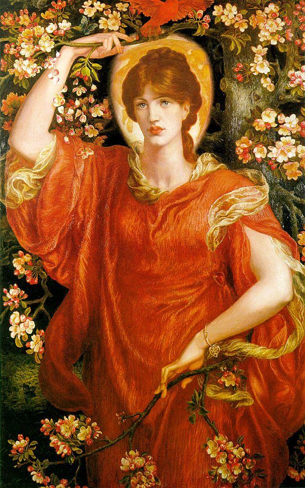 A Vision of Fiammetta | Dante Gabriel Rossetti  #SublimesLQS