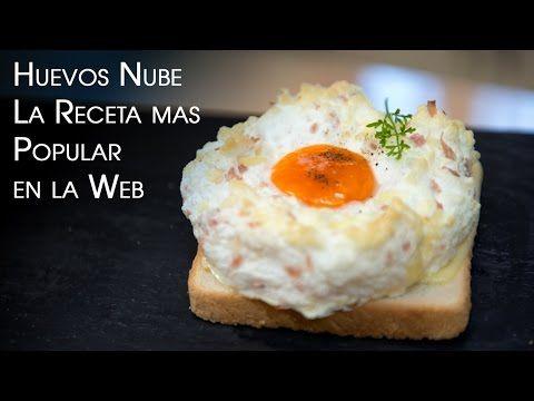 Huevos Nube La Receta mas Popular en la Web sin Carbohidratos - YouTube