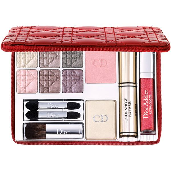 Dior Makeup Palette - I LOVE all-in one little kits like this, especially when on the road. Just this and a blending brush and I'm good to go.