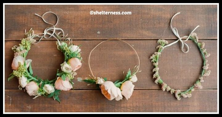 DIY Summer Flowers Crown Tutorial